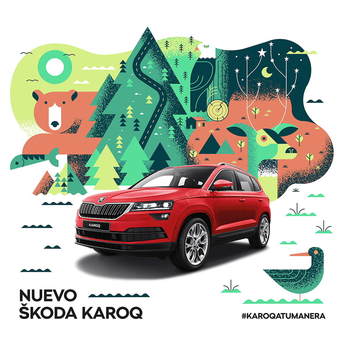 skoda-karoq-illustration-salmorejostudio