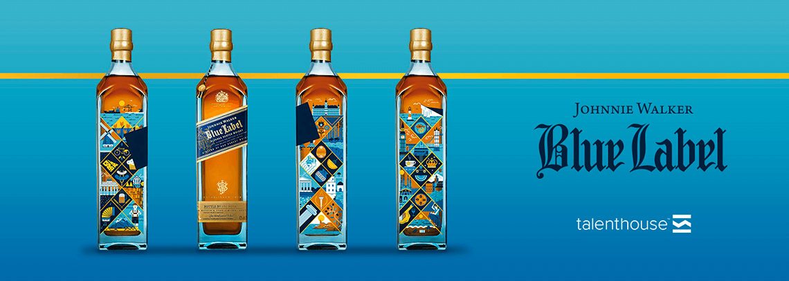 johnnie walker blue label project europe edition salmorejo studio
