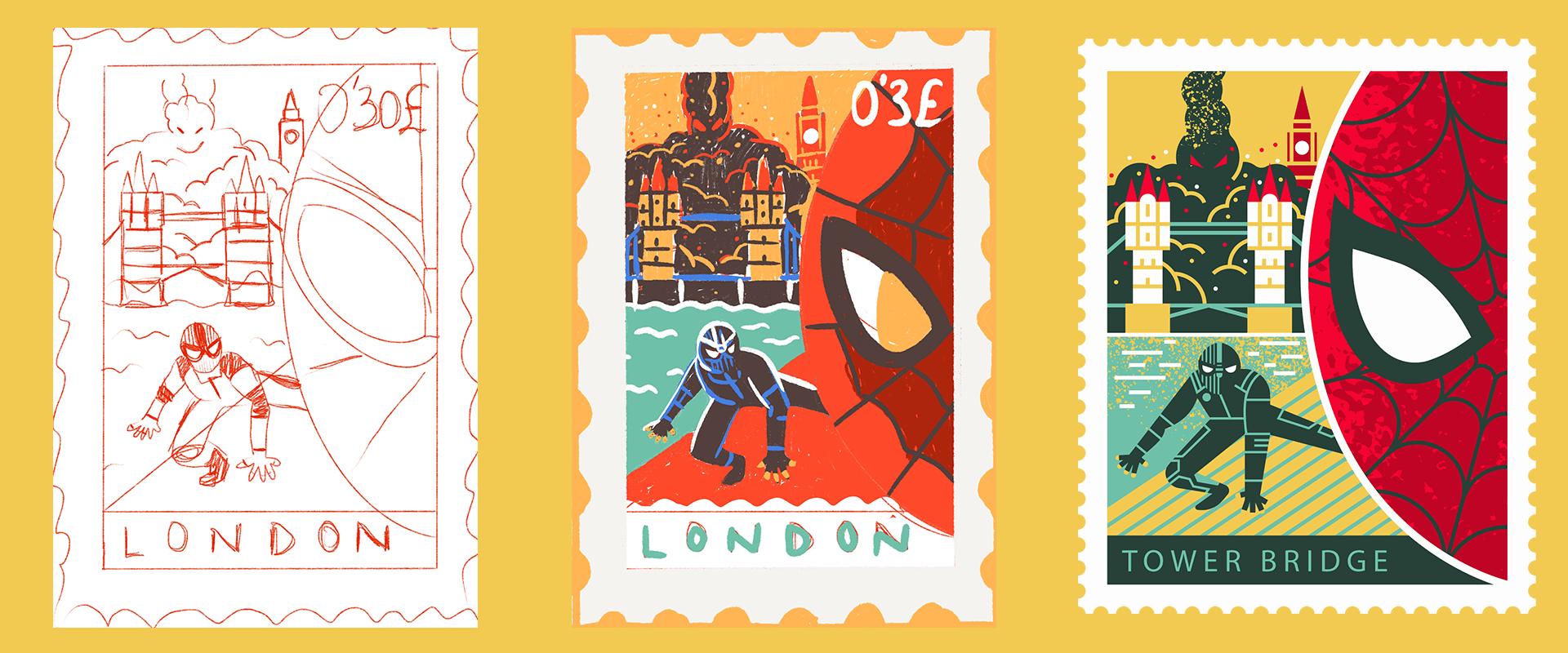 Spider-Man-Far-From-Home-Alternative-Movie-Poster-design