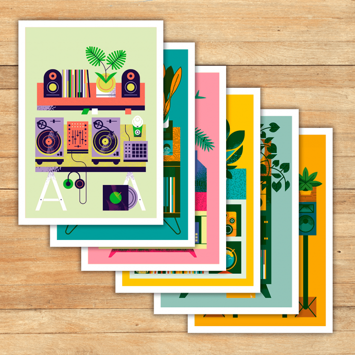 turntable_plants_print_set