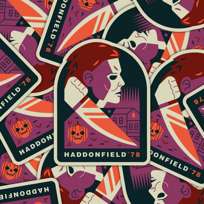 Slasher sticker pack Michael Myers From Halloween John Carpenter